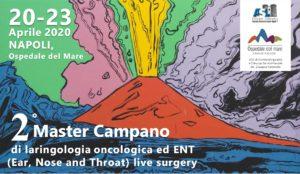 2 Master Campano di laringologia oncologica ed ENT @ Ospedale del Mare | Napoli | Campania | Italia